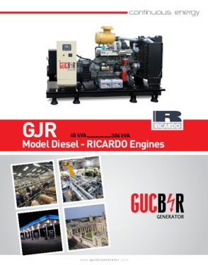 Gucbir Diesel Generator GJR 90 - 90 kVA