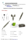 iPhone Stereo Earphones Headphones with Remote and Mic Volume Control
