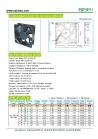120x120x38mm 12V 24V 36V 48V DC Ventilation Cooling Fan