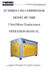 CNG compressorDF-1.25/(2-4)-210