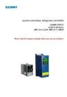 SU400 AC Drives 0.4KW-3.7KW