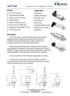 Economic Ceramic Pressure Transmitter