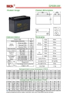 Deey Cycle Battery 6V-200AH