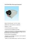 Fiber Microscope (HCF-400)