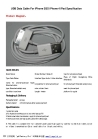 USB Data Cable For iPhone 3GS iPhone 4 iPad