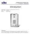 IP intercom, IP door phone KNZD-43 Koontech