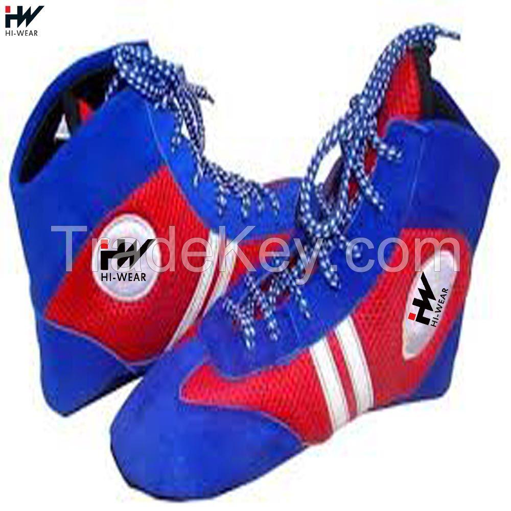 professional sport training sambo wrestling shoes for men women
