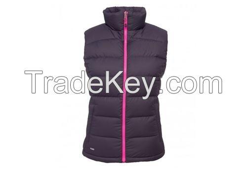 lady sleeves jacket bodywarmer