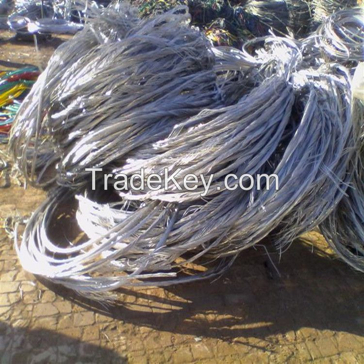 Low Price Aluminum Wire Scrap Aluminum Scrap with 99.9% Purity