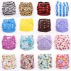 Baby cloth diaper colorful nappies bamboo inserts
