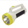 solar energy durable flashlight rechargable travel flashlight wire charging torch with LED light