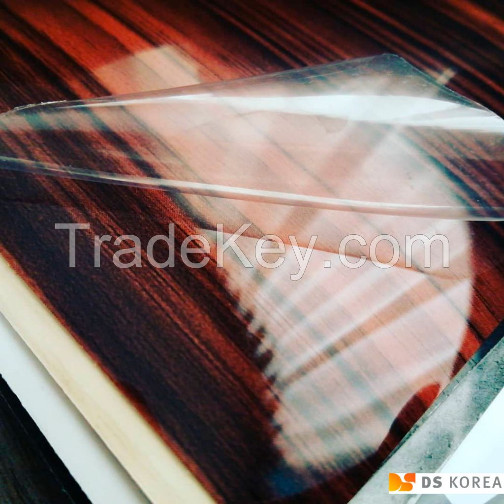 High gloss PVC and PET foil Korea made