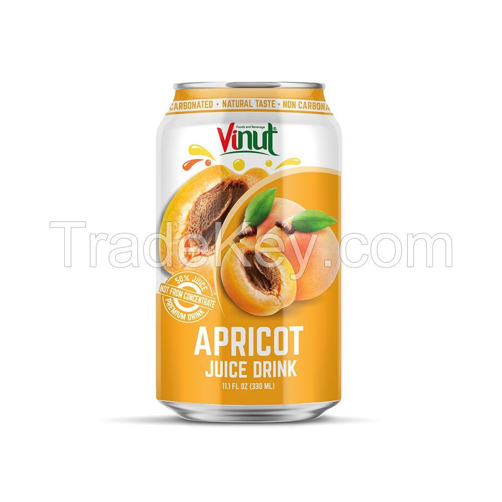 330ml VINUT 50% Juice Premium Apricot Juice Drink