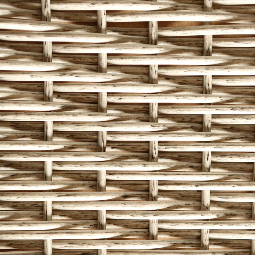 Natural Style Material PE Rattan Weaving Plastic Wicker