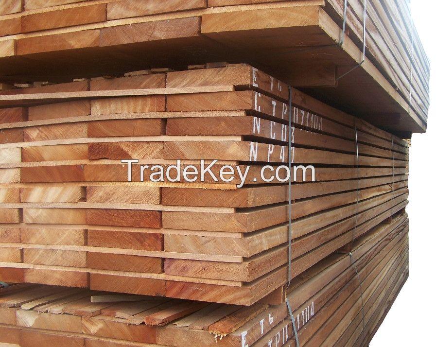 Movingui Hardwood Lumber