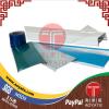 뜨거운 파란 필름, 투명한 LDPE 박판으로 만드는 필름