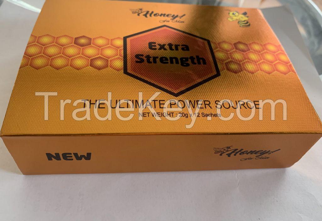 Extra Strength Honey for Men 20g X 12 Sachets/Box