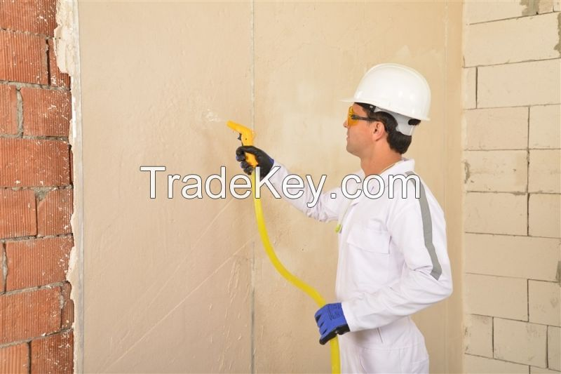Machine Spray Powder Plaster