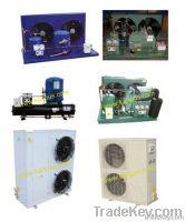 냉각 콘덴서 단위, 상자 유형 집광 단위, 압축기
