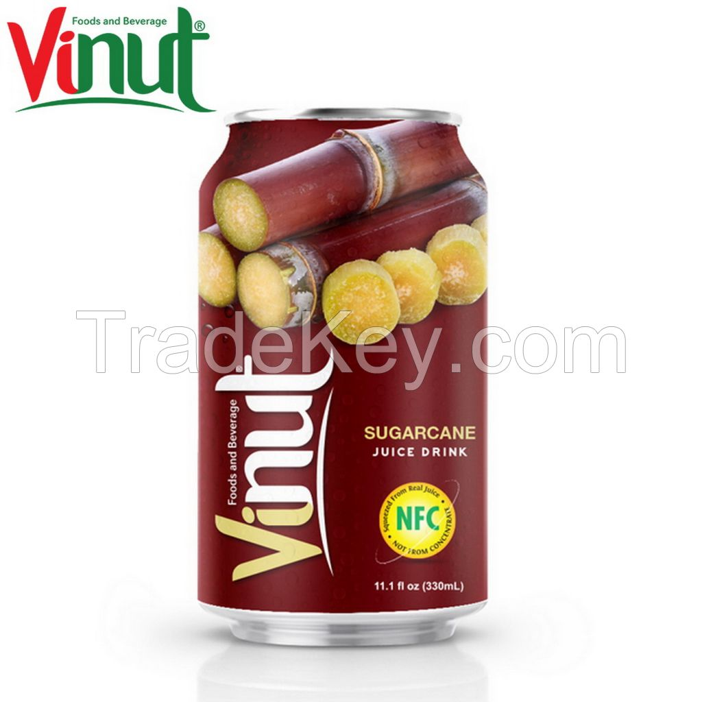 VINUT 330ml Sugarcane Juice Suppliers And Manufacturers Customized OEM Private Label New version