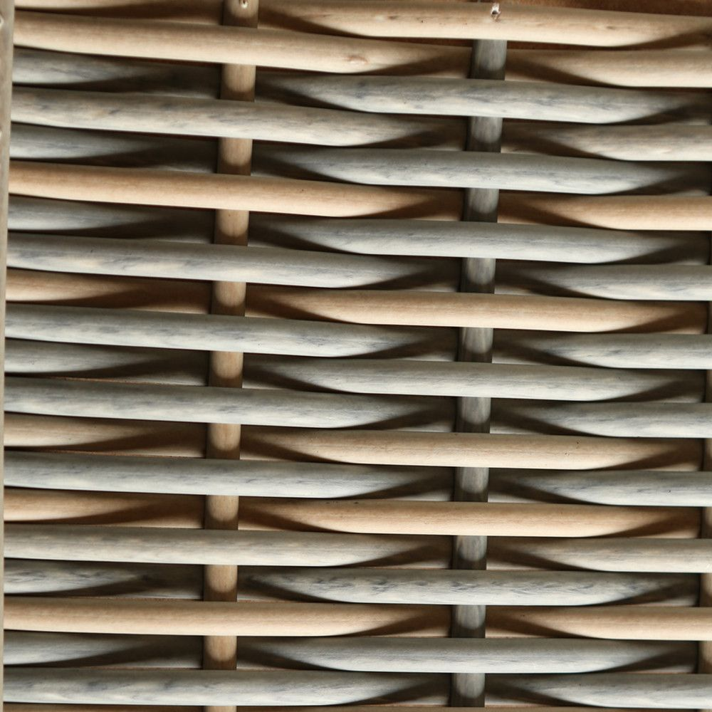 Artificial PE Material Hand Weaving Plastic Rattan Synthetic Wicker