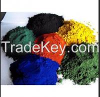 Железоокисный пигмент красный/желтый цвет/чернота/синь/коричневый цвет