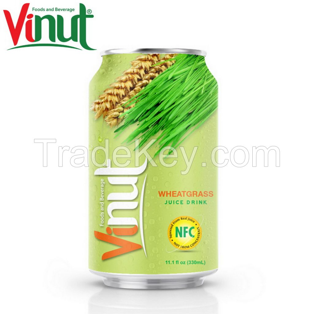 VINUT 330ml Wheatgrass Juice Manufacturers Private Label service Best Quality