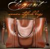 Fashion Retro Cowhide Leather Bags Lady Handbag Bag Trunk Tote Designer Shoulder Bag Ladies