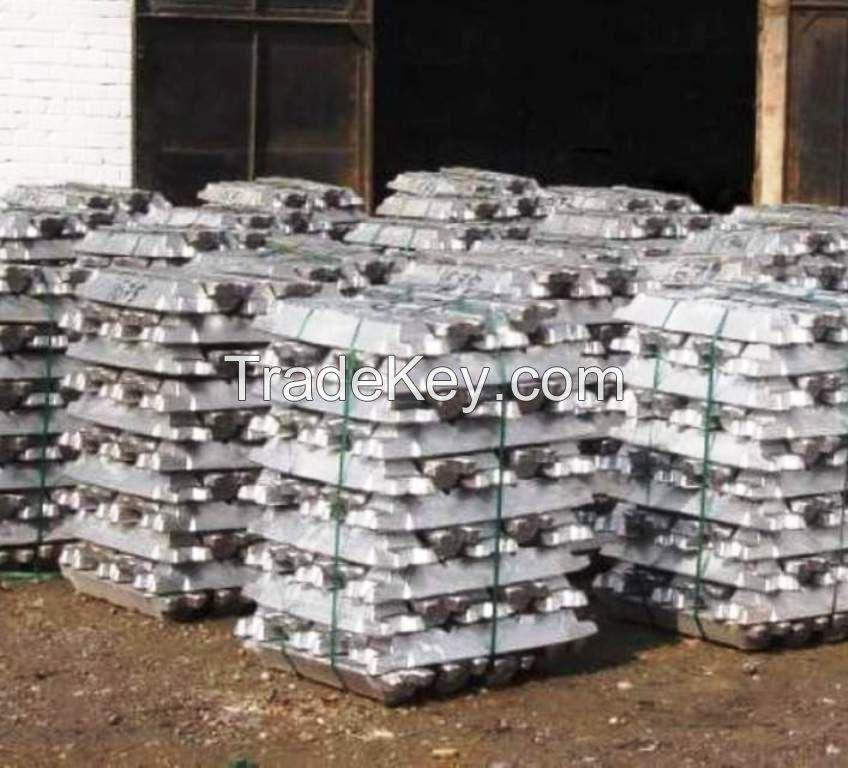 High Purity Antimony Ingot 99.65%, 99.85%, 99.90% for sale