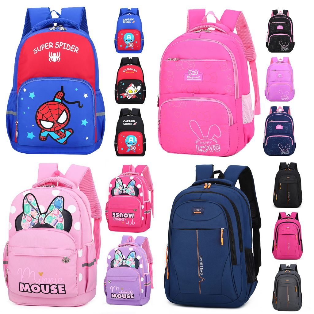school bags, backpacks, shopping bags, diaper bags, clutch bags,sports bags