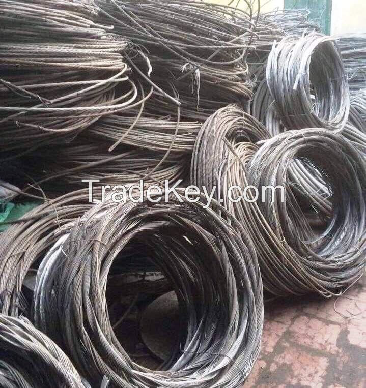 Aluminum Wire Scrap 99% for sale