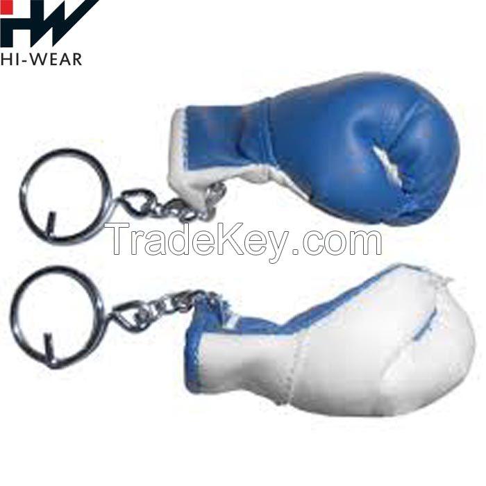 Boxing Gloves Golden Key Ring