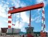 10-900T Shipbuilding MEC Double Beam/Girder Gantry Cranes for Sale