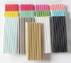 Biodegradable Paper Straws Solid Colors | Bulk Paper Straws for Concessions, Smoothies, Juice, Crafts, Party Supplies, Decorations