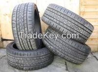 사용된 자동차 타이어