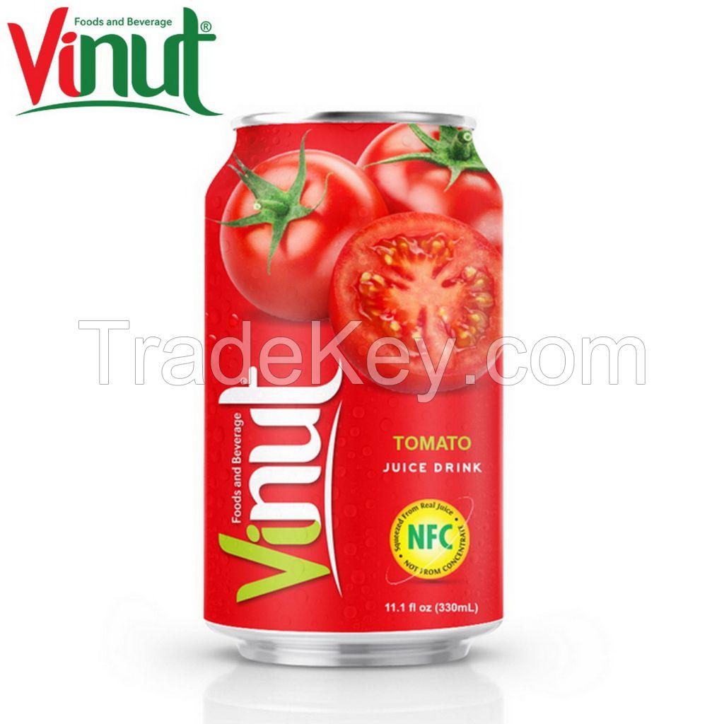 VINUT 330ml Tomato Juice Factory ODM service Healthy Premium