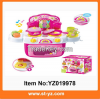 2015 High quality toys kitchen cooking toys with music and light