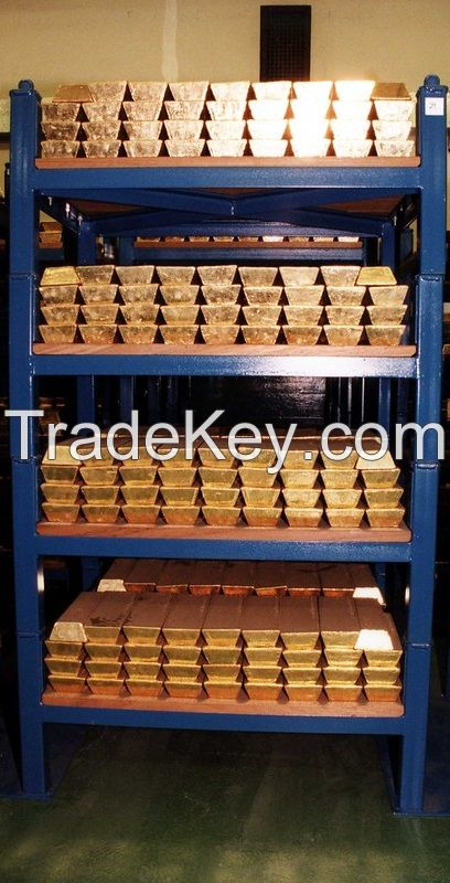 97%  Gold Dore bars and Nuggets