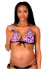 15% off on Maternity to Nursing Animal Push-Up Bikini Top