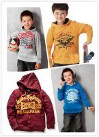 Sportswear малышей покрытия ватки падения и зимы детей Hoodies мальчика