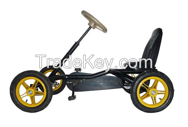 Manual Four-wheel Mini pedal Go Kart for 3-10 Year-old Kids