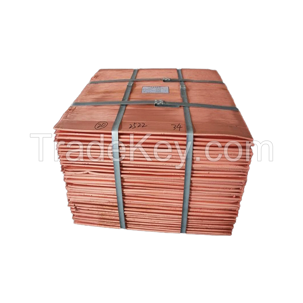 High Quality Wholesale Price 99.99% Pure Copper Cathode Copper