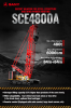 SCE4800A Sany Crawler Crane 480 Tons Lifting Capacity
