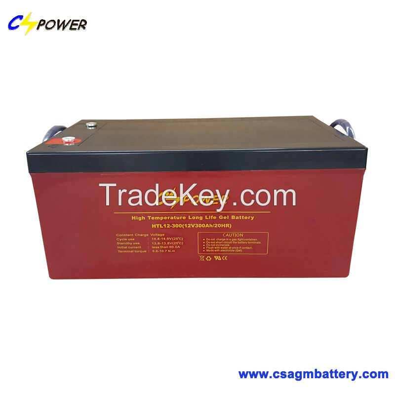 12V300ah SMF Deep Cycle Gel Battery for Power Energy /Pump
