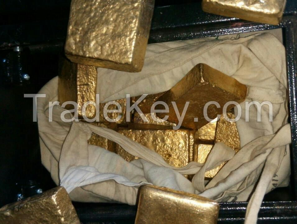 Gold bars and nuggets available