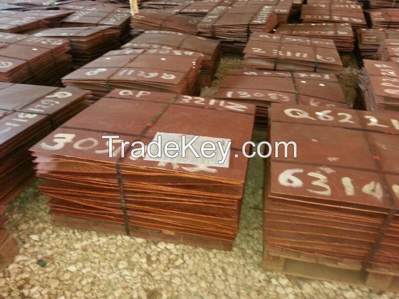 copper cathodes available