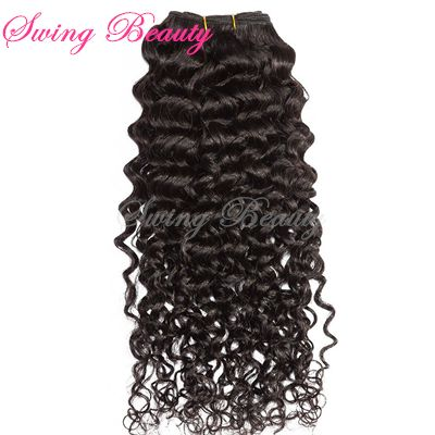 100% Brazilian Virgin Remy Curly Hair Weaving Weft Extension