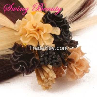 Keratin Pre-bonded Cuticle Remy Human Hair Extension