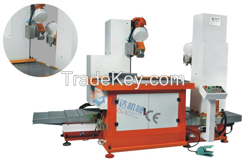 edge milling machine for ground plate