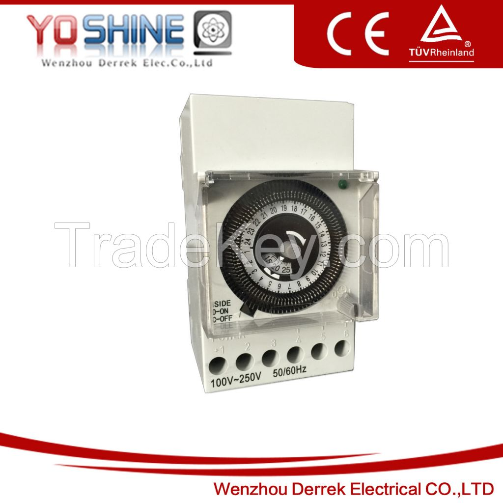 SUL181B Daily Weekly Quartz DIN Serie Time Switches